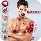 Injury Photo Editor-Zombie Maker New