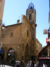 Photo: Although the façade and tower of this old city church survives, it seems to be all shops now.