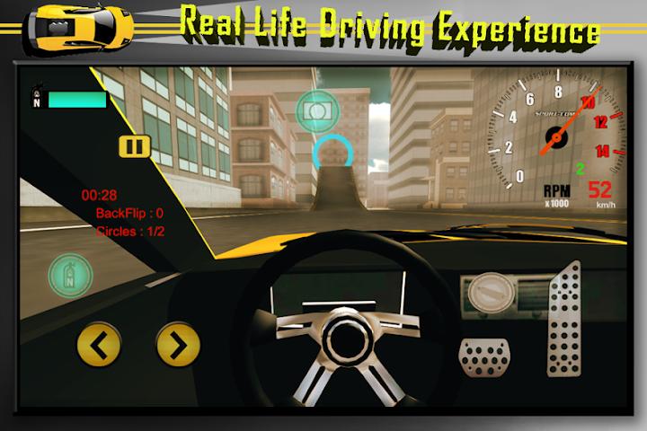 android Car Stunts Extreme Sim Screenshot 1