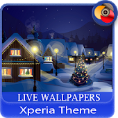 New Year's holidays | Xperia™ Theme