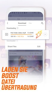 UC Browser - Schneller Surfen Screenshot