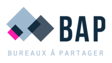 Bureau a partager logo