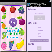 memory speed a child's brain