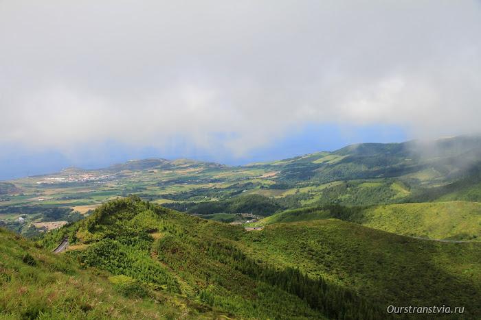 Panorama view Sao Miguel