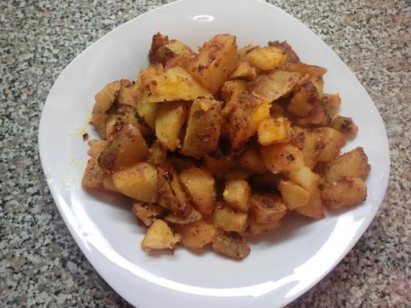 Spicy Breakfast Potatoes Recipe