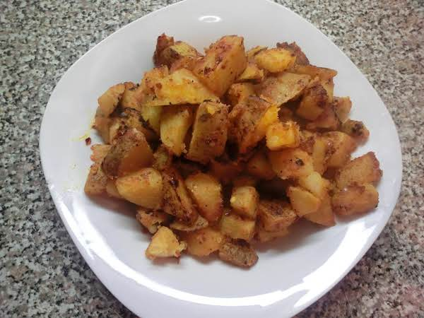 Spicy Breakfast Potatoes