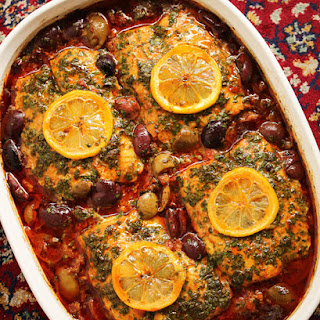 Moroccan Fish Tagine with Ginger & Saffron.