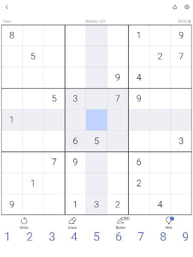 Sudoku - Sudoku puzzle, Brain game, Number game screenshots 10