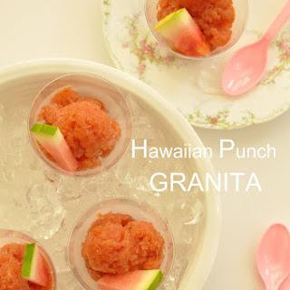 Hawaiian Punch Granita