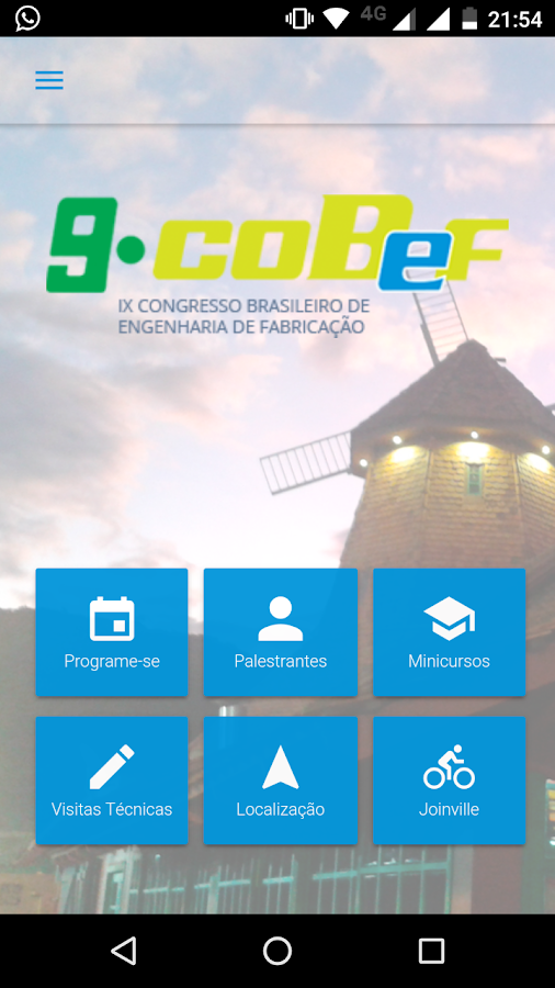 COBEF- screenshot
