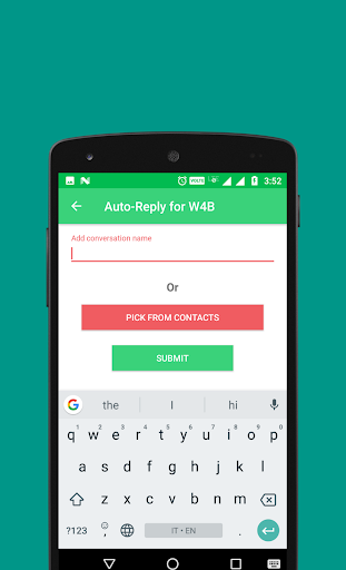 Auto-Reply for WhatsApp Business 1.3 screenshots 3