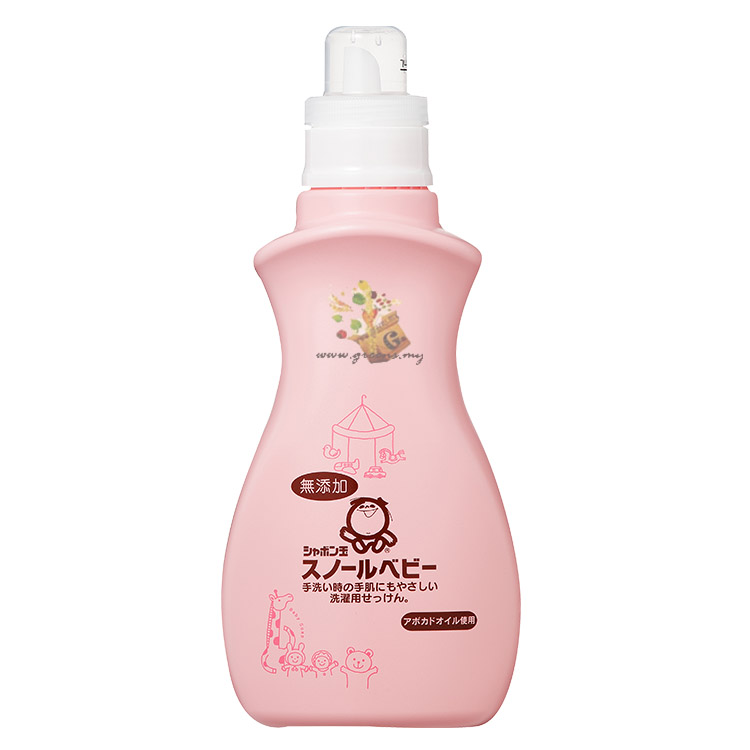 Shabondama Snowl Baby Liquid (800ml) 泡泡玉雪花婴儿洗衣液 by Green Surprise Enterprise
