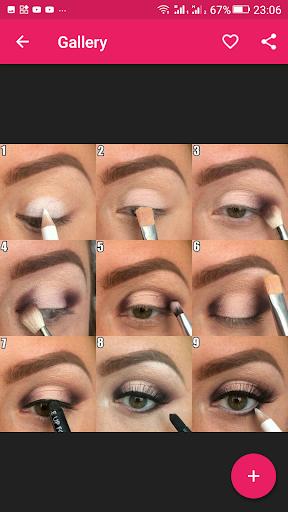 Step By Step Eyes Makeup Tutorial 2.3.09 screenshots 4