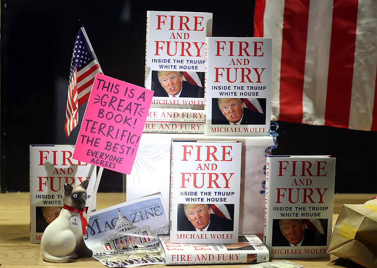 'Fire and Fury: Inside the White House' by Michael Wolff.
