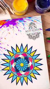 Zen Anti Stress Coloring Pages - náhled