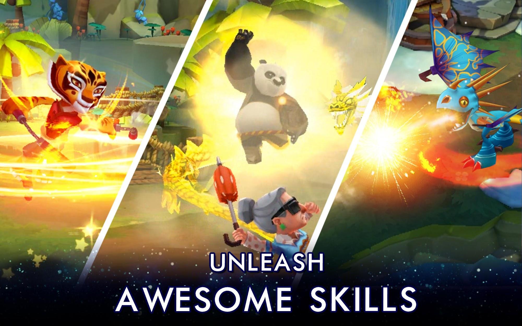 DreamWorks Universe of Legends screenshot #8