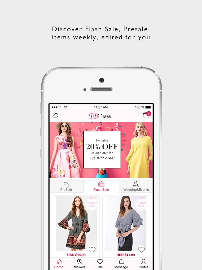 TBdress Shopping (Women & Men)- screenshot