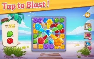 Ohana Island: Blast flowers and build