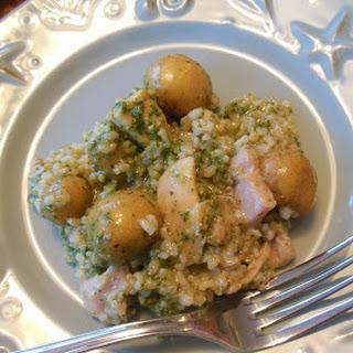 Pesto Chicken and Rice Recipe