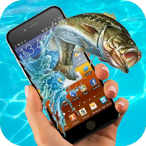Fish on screen (app)