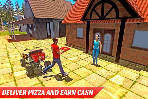 ATV Pizza Delivery Boy  screenshots 6