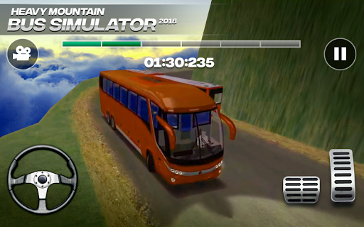 Bus Mountain Transport Simulator android2mod screenshots 2