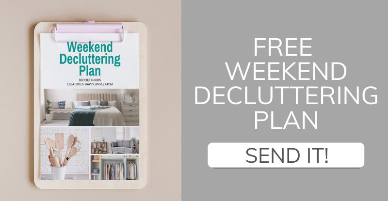 Download a Weekend Decluttering Plan
