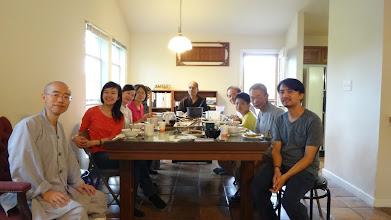 Photo: 台灣護法居士來訪