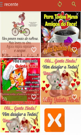 Mensagens de Quinta Feira 2.0.0.0 screenshots 2