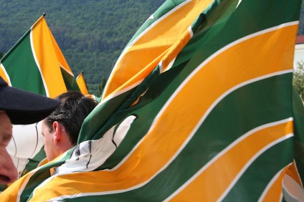Bandiere al vento a Romano di ceschi1959