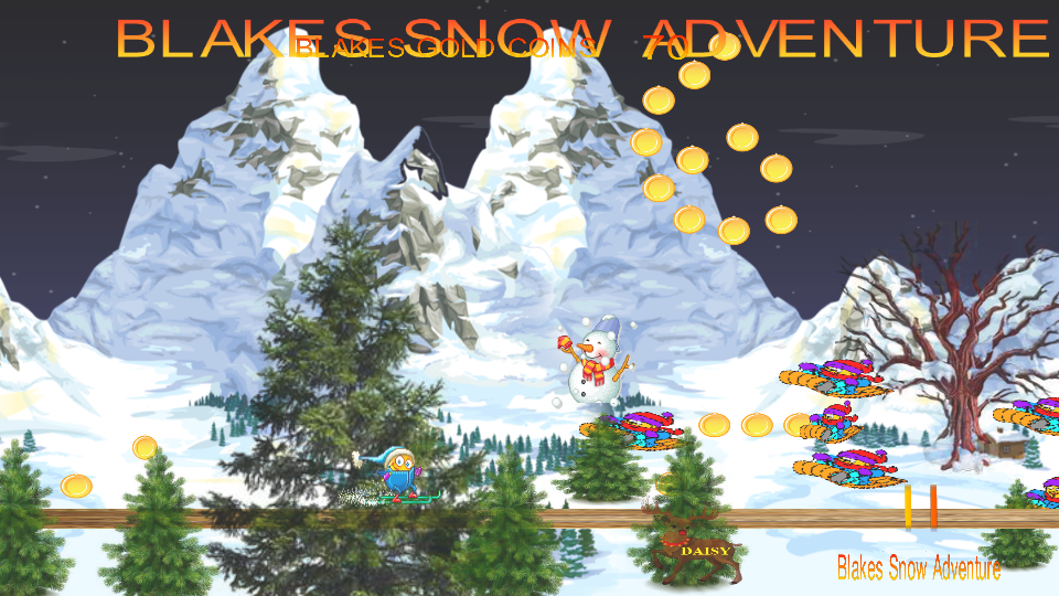 Blakes Snow Adventure- screenshot