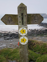 Photo: Getting into the Coast Path