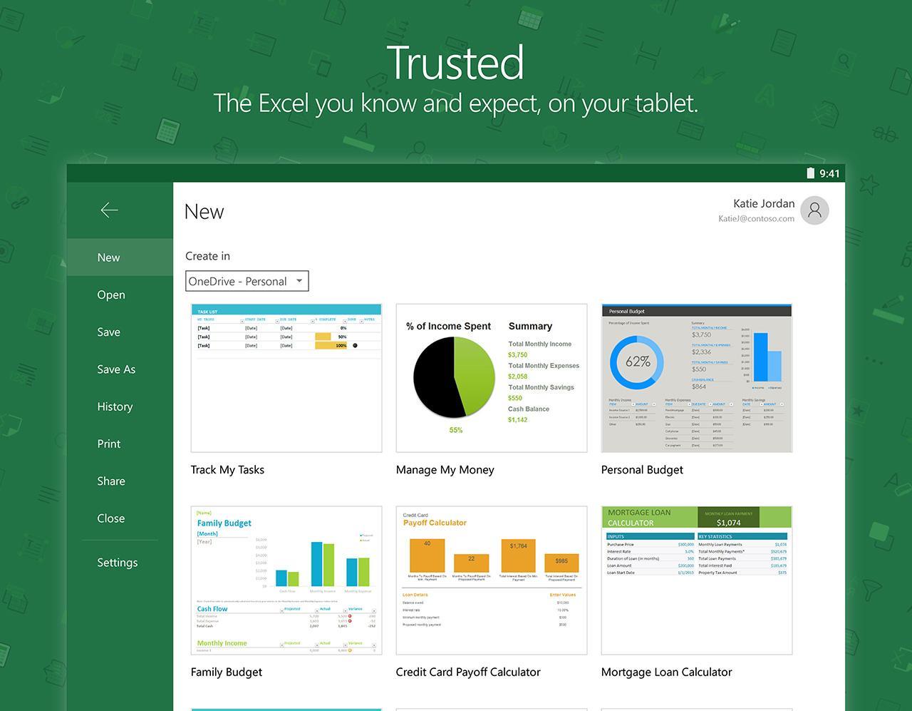 Microsoft Excel screenshot #12