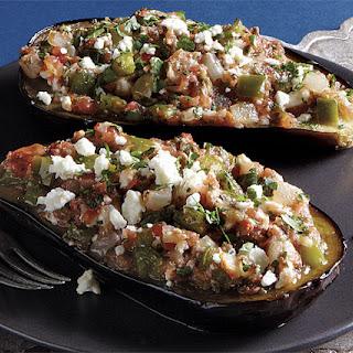 Imam Bayaldi (Stuffed Eggplant)