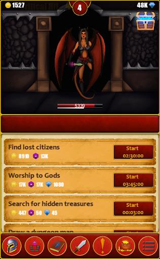 Télécharger Infinite Dungeons( Clicker / Idle  RPG ) mod apk screenshots 3