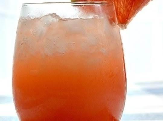 Grapefruit Ginger Sparkler (cocktail) Recipe