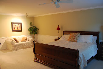 Photo: Master Bedroom with Sitting Area - King Bed