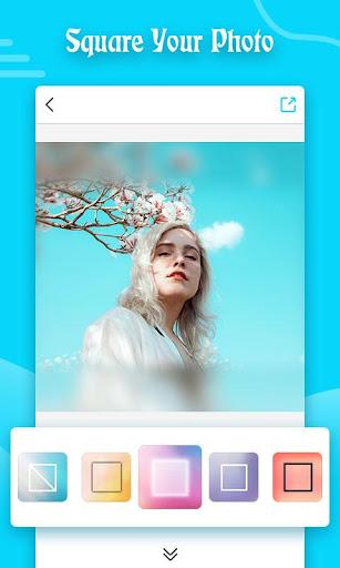Square Blur- Blur Image Background Music Video Cut 1.91 screenshots 1