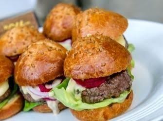 Burger that Won @Taste America