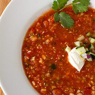 Spicy Gazpacho Soup Recipes