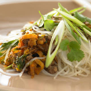 Beef Stir-Fry with Glass Noodles.