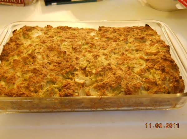 9x13 Pan Of My Moms Best Pa Dutch Stuffing. You Can Stuff The Bird Or Roast In A Pan Delicious Either Way !