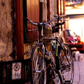 ... by Daniel Gaudin - Transportation Bicycles ( art, street scene, transportation, photography, bicycle,  )