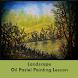 Landscape Painting Lesson