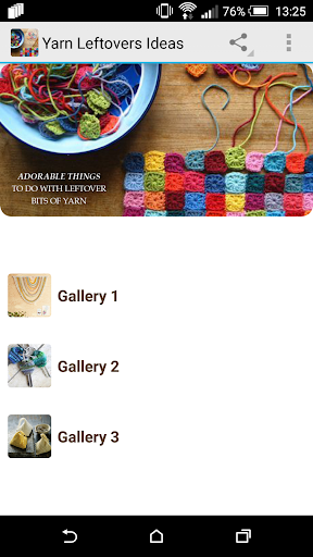 Yarn Leftovers Ideas