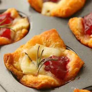 Cranberry Brie Bites.