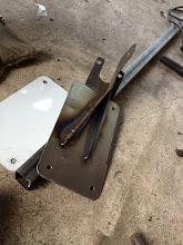 Photo: Bracket welded.