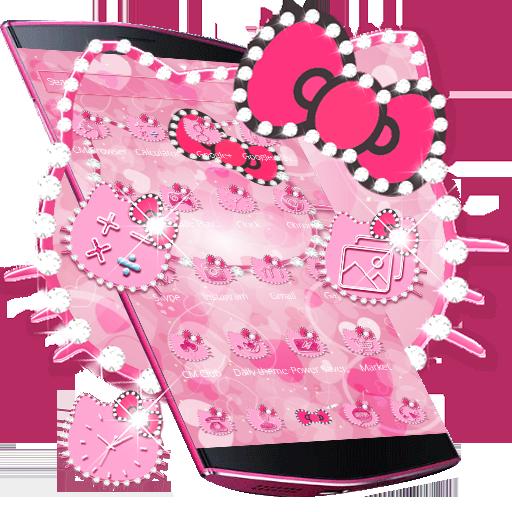 Pink Kitty Diamond Theme