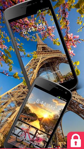 GO Locker Theme Eiffel Tower