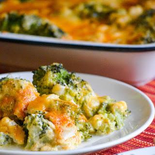 Grandma's Cheesy Broccoli Souffle Casserole.